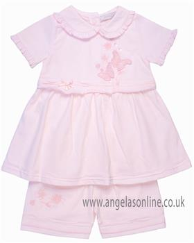Coco baby girls dress & panty CCS5587 Pink