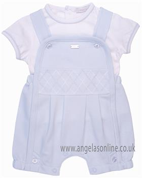 Coco baby boys top & dungaree CCS5595 Blue