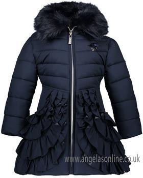 S&D Le Chic girls winter coat C8075202 Navy