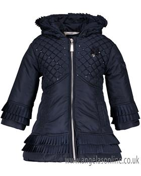 S&D Le Chic girls winter coat C8075215 Navy