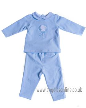 Sardon baby boys jogsuit CO-433 Blue
