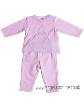 Sardon baby girls jogsuit CO-438 Pink