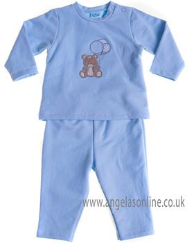 Sardon baby boys jogsuit CO-442 Blue