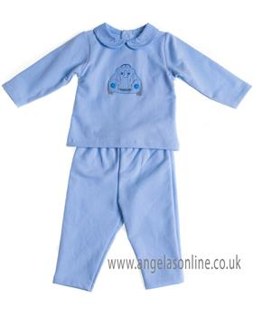 Sardon baby boys jogsuit CO-452 Blue