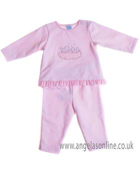 Sardon baby girls jogsuit CO-454 Pink