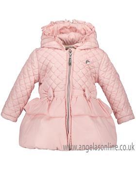 S&D Le Chic Baby Girls Coat C8077217 PK