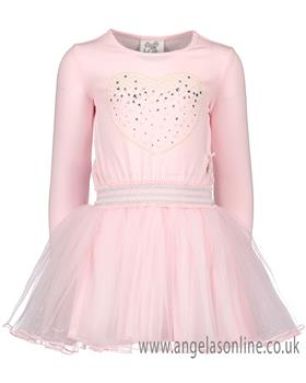 S&D Le Chic girls winter dress C8085841 Pink