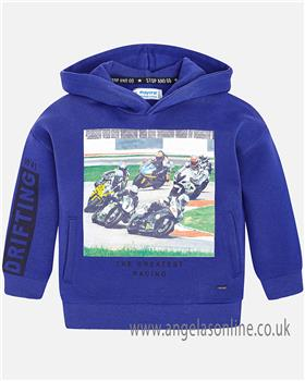 Mayoral boys hooded top 4440-18 royal