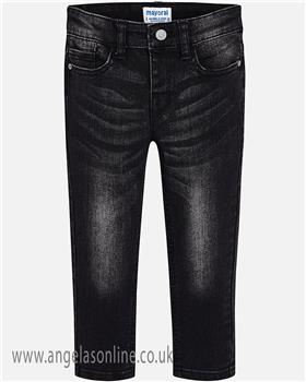 Mayoral boys jeans 4526-18 black