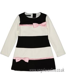 Kate Mack Girls Dress 106MB-18 Black