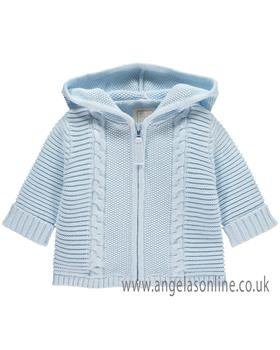 Emile Et Rose Boys Knitted Cable Jacket Norris 9288 BL