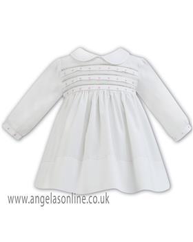 Sarah Louise baby girls winter dress 011286 IV-PK