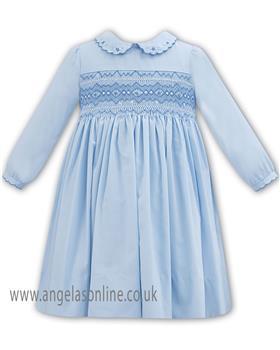 Sarah Louise Girls Winter Dress 011309L-18 BL