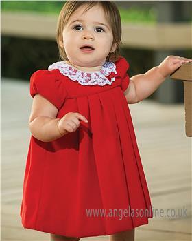 Sarah Louise Girls Winter Dress 040000-18 AS