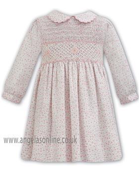 Sarah Louise Girls Winter Dress 011362-18 AS