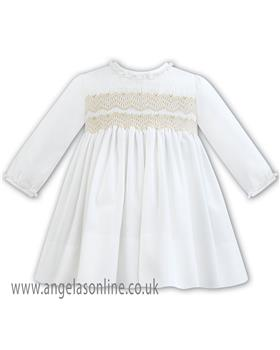 Sarah Louise Girls Winter Dress 011297-18 IV/BG