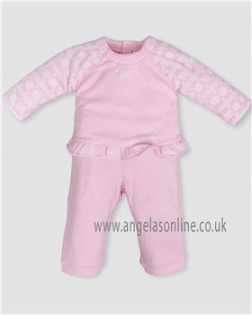Tutto Piccolo baby girls two piece set 5686-18 Pink