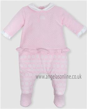 Tutto Piccolo baby girls all in one sleepsuit 5185-18 Pink