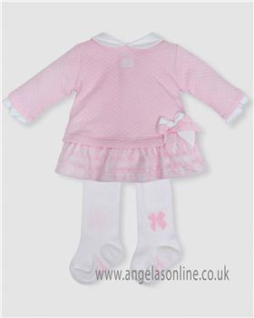 Tutto Piccolo girls dress & tights 5285-18
