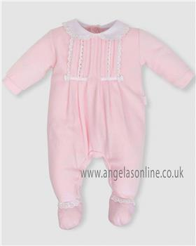 Tutto Piccolo baby girls all in one sleepsuit 5198-18 Pink