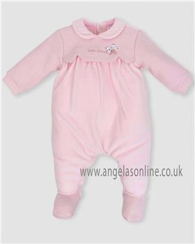 Tutto Piccolo baby girls all in one sleepsuit 5193-18 Pink