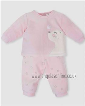 Tutto Piccolo baby girls two piece set 5688-18 Pink