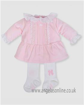 Tutto Piccolo girls dress & tights 5298-18