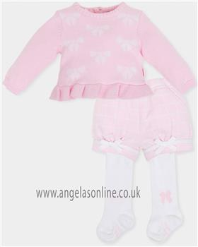 Tutto Piccolo baby girls jumper & short 5720-5312-18 pink