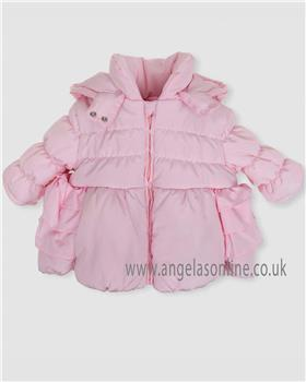 Tutto Piccolo Girls Coat 5512-18 Pink