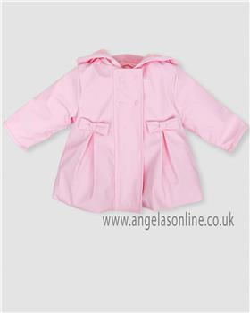 Tutto Piccolo girls coat 5520-18 pink