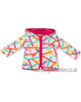 Agatha Ruiz Girls Jacket 6620-18 Cerise