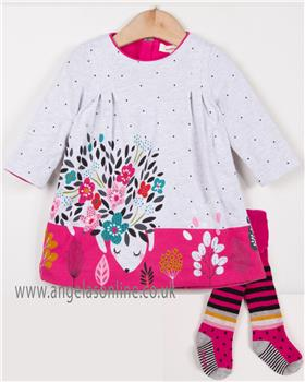 Catimini girls dress & tights CM30003-94043