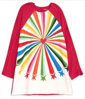 Agatha Ruiz girls multi coloured dress VE3092-18