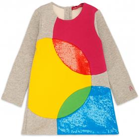 Agatha Ruiz girls quadricomy dress VE3144-18 Multi