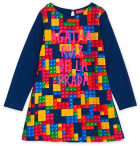 Agath Ruiz girls multi colured dress VE3109-18 multi