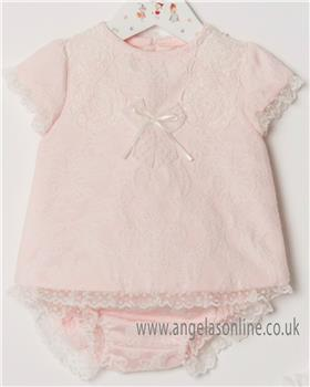 Dolce Petit baby girls dress & panty 24-2005-VB