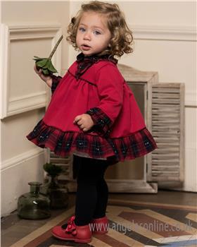 Dolce Petit Girls Dress & Knicks 24-2145-VB-18 RD