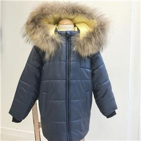 Bufi boys winter hooded jacket B10906 Navy