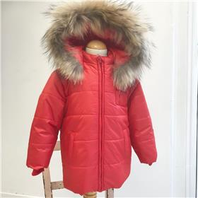 Bufi boys winter hooded jacket B10906 red