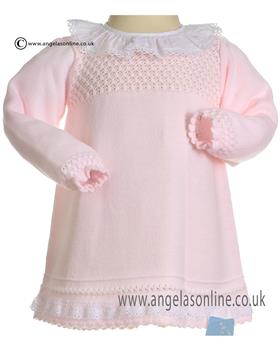 Granlei Knitted Dress 2-1321-18 PINK