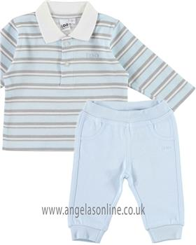 I DO Boys Polo & Trouser V244-V268-18 BL