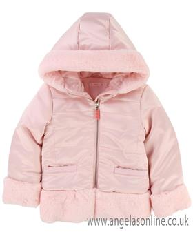Billieblush girls coat U16185-18 Pink