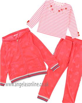 Billieblush girls 3 piece jog suit U15535-18085
