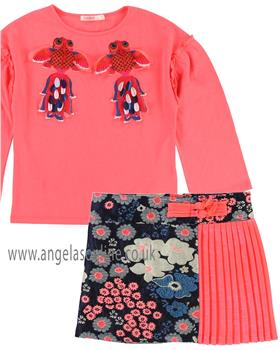 Billieblush girls top & skirt U15546-13187-18