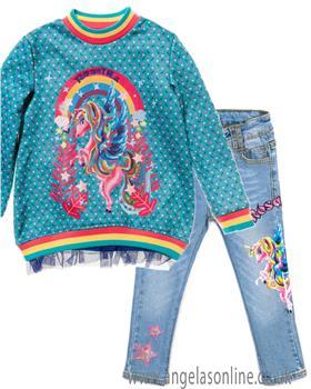 Rosalita Senorita girls sweatshirt & jeans TEIDE 10-9