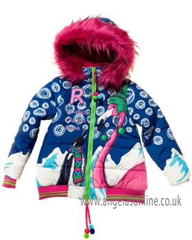 Rosalita Senorita girls coat Cervino-6