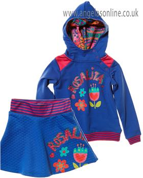 Rosalita Senorita girls sweatshirt & skirt BORAH 10-3