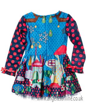 Rosalita Senorita girls dress Andes-1