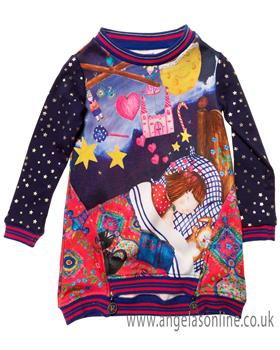 Rosalita Senorita girls dress ACONCAGUA-1