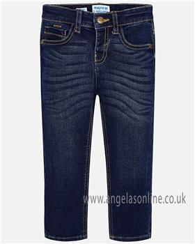 Mayoral boys jeans 504-18 blue